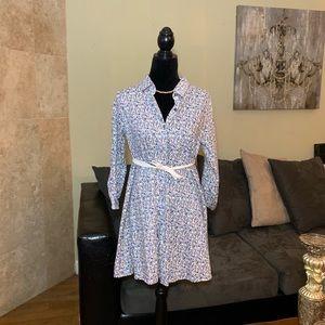 ALTAR'D STATE | Floral Button Down Shirt Dress | L
